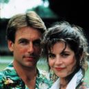 Mark Harmon and Kirstie Alley