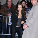 "Ellen Page Drops By ""The Late Show"""