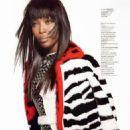 Naomi Campbell - Elle Magazine Pictorial [Ukraine] (November 2013)