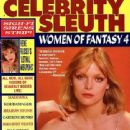 Michelle Pfeiffer - Celebrity Sleuth Magazine Cover [United States] (April 1993)