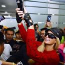 Paris Hilton – Arrives at Airport in Mexico City
