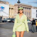 Olivia Culpo – Out in Paris