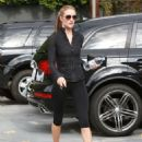 Rosie Huntington Whiteley At A Gym In West Hollywood