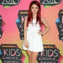 Ariana Grande - Nickelodeon's 23 Annual Kids' Choice Awards Held At UCLA's Pauley Pavilion On March 27, 2010 In Los Angeles, California