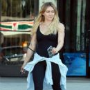 Hilary Duff – Heads to her work out in Los Angeles
