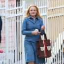 Elisabeth Moss – Filming 'The Kitchen' in New York - 454 x 689
