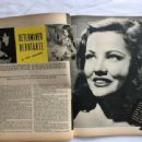 Gene Tierney - Motion Picture Magazine Pictorial [United States] (December 1945) - 454 x 340