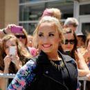 Demi Lovato attends