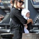 2012, Sept 02 - Andrea Corr and baby girl Jean in Dublin - 306 x 676