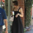 Lauren Cohan – Heads to a nail salon in Beverly Hills - 454 x 681