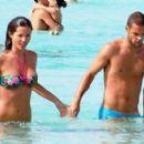 Malena Costa and Mario Suarez Mata in Ibiza - 454 x 268