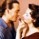 Johnny Depp and Juliette Binoche in Miramax's Chocolat - 2000