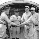 Roger Hornsby, Hack Wilson, Al Simmons & Jimmie  Foxx in 1929