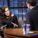 Winona Ryder At The Late Night with Seth Meyers (August 2015) - 454 x 303