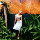 Candice Swanepoel – Tropic of C Resort 20 collection - 454 x 454