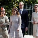 Prince Windsor and Kate Middleton attend Easter Day service