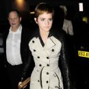 Emma Watson exits Mahiki nightclub in London, February 12, 2011