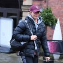Gemma Atkinson – Leaving Key 103 Radio Station in Manchester