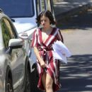Lucy Hale – Arriving at Friends House in West Hollywood