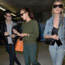 Stella Maxwell and Irina Shayk – Arriving at Nice Airport