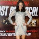 """Paula Patton attends the UK premiere of """"Mission Impossible: Ghost Protocol"""" held at BFI IMAX in London"""