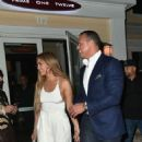 Jennifer Lopez and Alex Rodriguez at Prime 112 Restaurant in Miami
