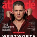 Wentworth Miller - Attitude Magazine Cover [United Kingdom] (November 2016)