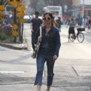 Jill Hennessy – Out in the West Village
