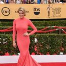 Charissa Thompson attends the 21st Annual Screen Actors Guild Awards at The Shrine Auditorium on January 25, 2015 in Los Angeles, California