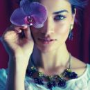 Shanina Shaik Anthropologie Photoshoot 2014