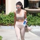 Chantel Jeffries – Arrives at hot pilates class in West Hollywood