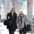 Charlize Theron: stopped by Zen Nail Spa in Beverly Hills