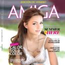 Angelique Boyer, Abyss of Passion - Amiga Magazine Cover [Mexico] (July 2012)