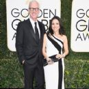Julia Louis-Dreyfus and Brad Hall: 74th Annual Golden Globe Awards - Arrivals