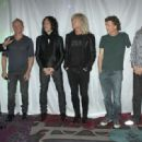 Def Leppard Kick Off 'Viva Hysteria' Residency With Memorabilia Display Dedication at the Hard Rock Hotel and Casin in Las Vegas - 454 x 332