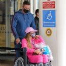 Katie Price – Is seen at the Chelsea and Westminster hospital - 454 x 618