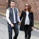 Kevin and Danielle taking a stroll on Wednesday 1/15/14 in New Jersey - 454 x 578