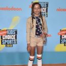 Quinne Daniels – Nickelodeon Kids' Choice Sports Awards 2019 in Los Angeles - 454 x 636