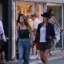 Cara Delevingne and Ashley Benson in St Tropez