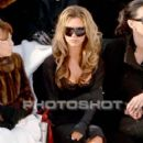 Victoria Beckham and L'Wren Scott attend the Chanel fashion show during Paris Fashion Week (Haute Couture) Spring/Summer 2006 on January 24, 2006 in Paris, France - 404 x 640