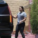 Demi Lovato – Leaves the gym in LA