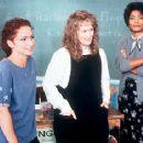 Gloria Estefan, Meryl Streep and Angela Bassett in Music Of The Heart - 10/99
