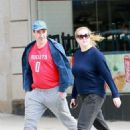 Amy Schumer and Chris Fischer take a walk in New York - 454 x 681