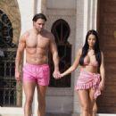 Yazmin Oukhellou in Bikini on holiday in Morocco - 454 x 605