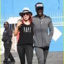 Sharna Burgess and Antonio Brown (wide receiver, born 1988)
