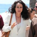 Andie MacDowell out in Cannes - 454 x 680