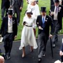 Meghan Markle – 2018 Royal Ascot Day One in Berkshire - 454 x 290