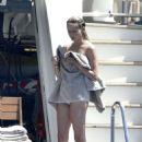 Natasha Poly in Bikini on a holiday in Sardinia - 454 x 682