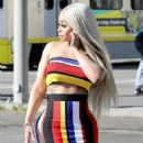 Blac Chyna In Downtown Los Angeles, California - March 15, 2018 - 454 x 681