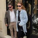 Gigi Hadid – Leaves Chanel store rue Cambon after a fitting in Paris